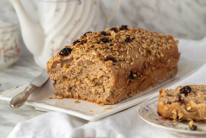 Cinnamon and Maple Syrup Cake