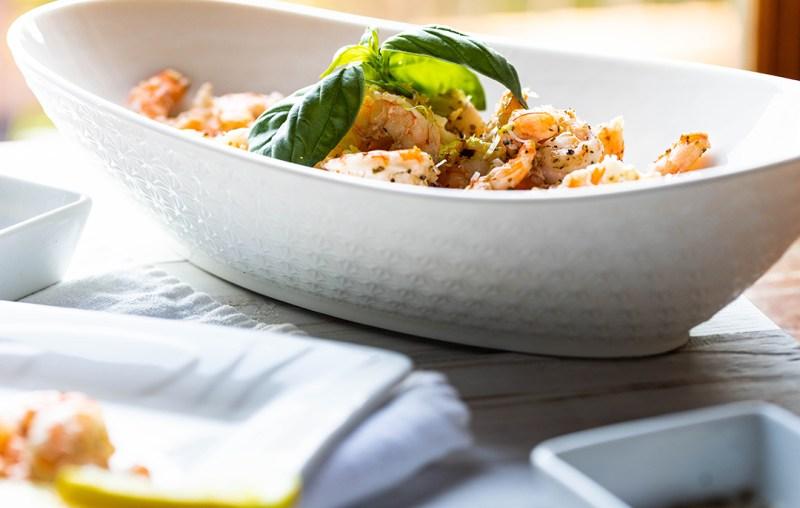 Parmesan Cheese Shrimps