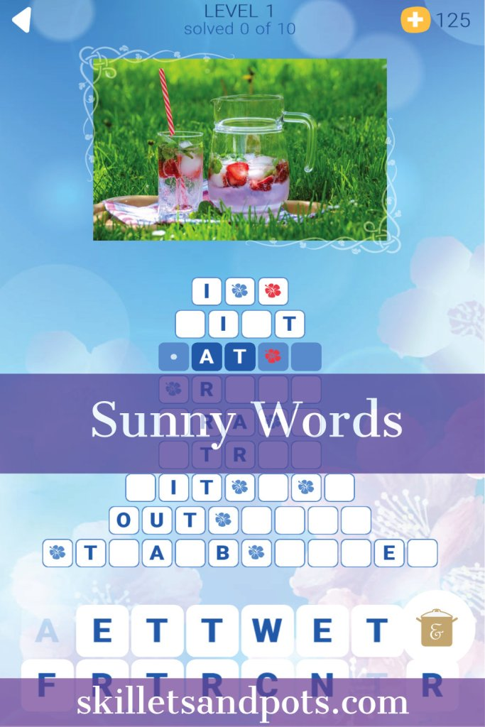 Sunny Words Best Free Word Game