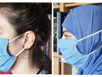 How to sew a surgical-type mask at home