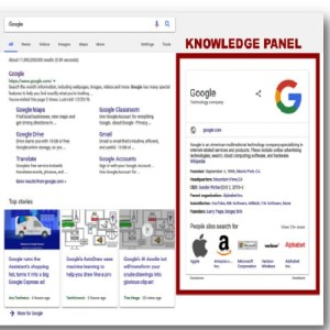 create knowledge panel