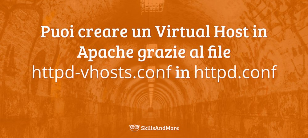 Crea un Virtual Host in Apache