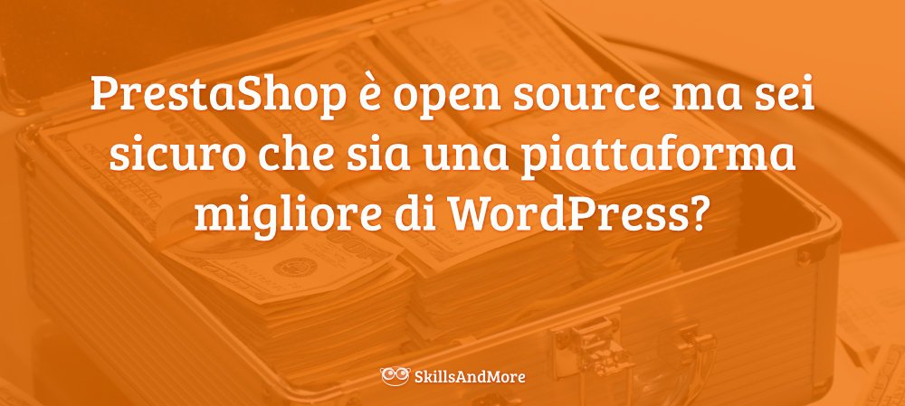 Sei sicuro che Prestashop sia migliore di WordPress?