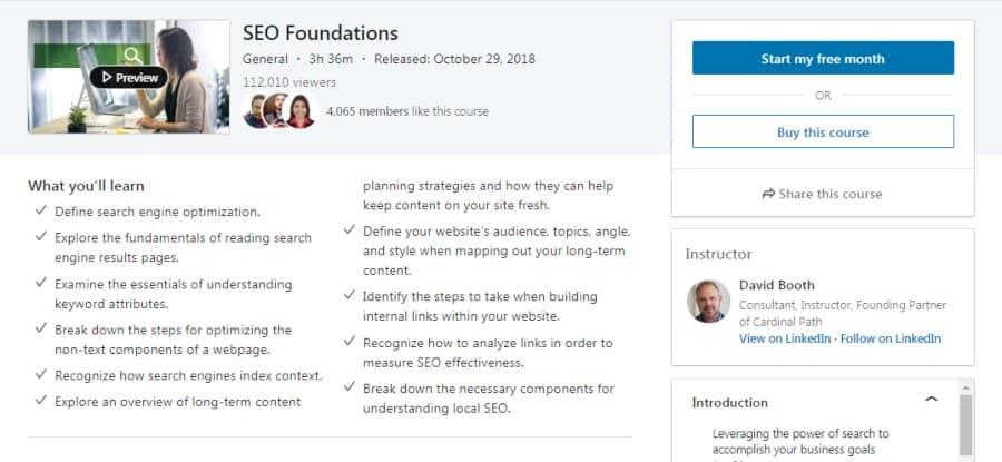 SEO Foundations