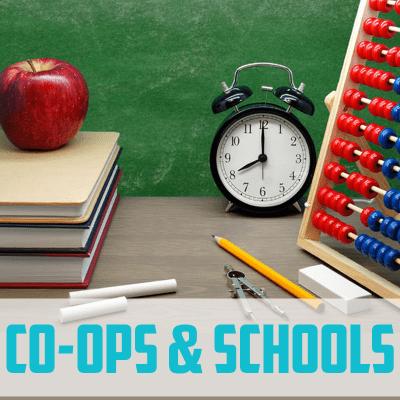 Co-ops & Schools