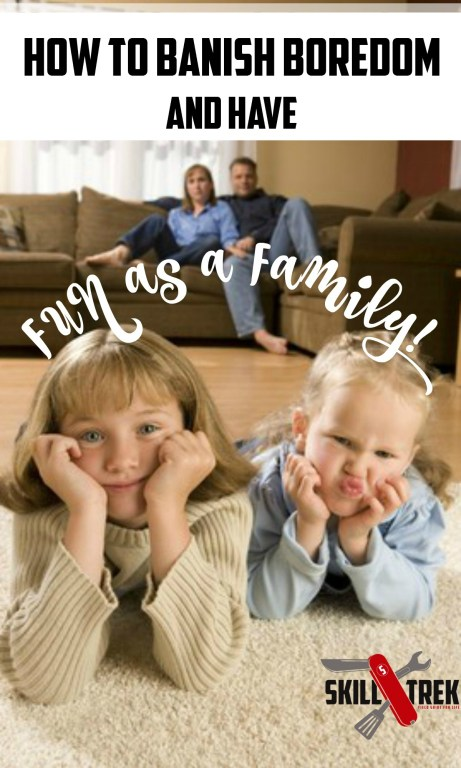 During holidays, parents and grandparents ask what they can do to keep their young people busy. Banish boredom with simple tasks that enhance quality time.