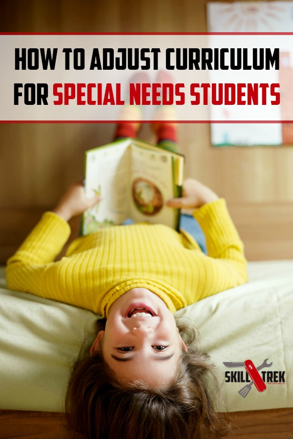 Many homeschooling moms have special needs students at home. Special needs can cover a variety of disabilities. This means a standard curriculum may not fit your child's needs. Here are some ways you can adjust your curriculum for your special needs student.
