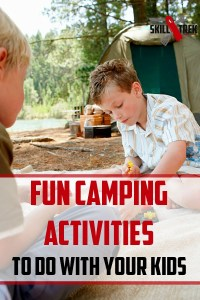 If you're planning a camping trip with your family but are concerned about how to keep your kids entertained and busy, we've got you some solid help. Read on for some fun activities to do when camping with kids.