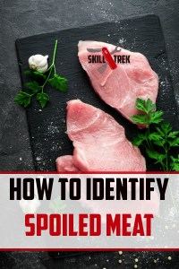 How do you identify spoiled meat? Here are some important things to look out for to minimize the risk of eating spoiled meats.