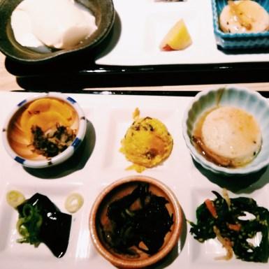 Lunch at Ichiba Coji in Kyoto. Tofu for miles!