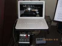 Drumschool Limburg laptop en mixer