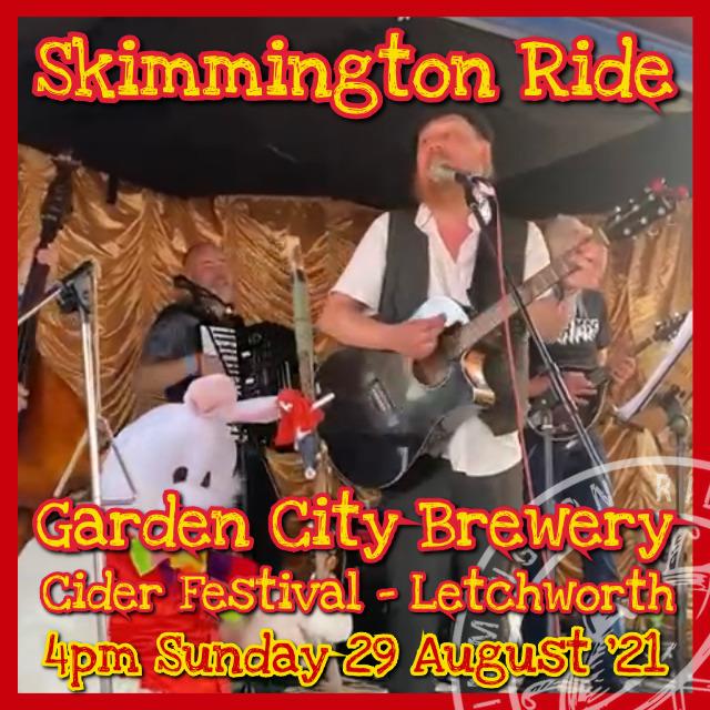 Skimmington Ride at Folk Around The Tree at The Orange Tree, Baldock