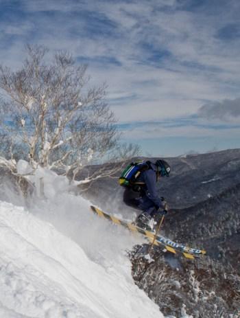 Morgan laisse exprimer son ski