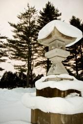 Près d'un temple