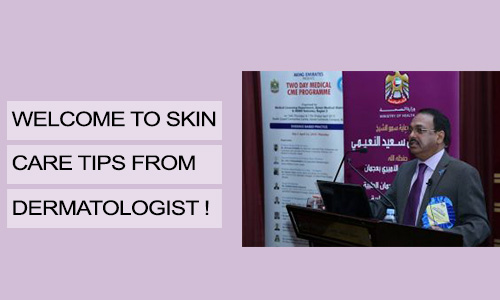 Welcome to Skin Care Tips from Dermatologist!
