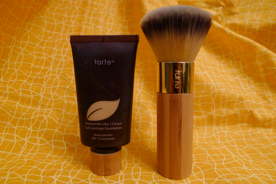Tarte Amazonian Clay 12-hour Full Coverage Foundation & Airbrush Finish Bamboo Foundation Brush