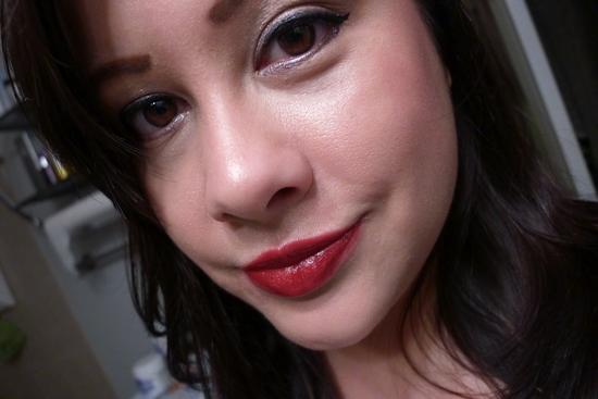 """Shiseido Lacquer Rouge Liquid Lipstick in """"Nocturne."""""""