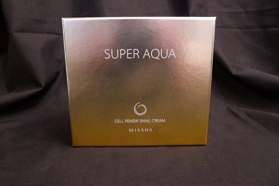 Missha Super Aqua Cell Renew Snail Cream & Sleeping Mask Set