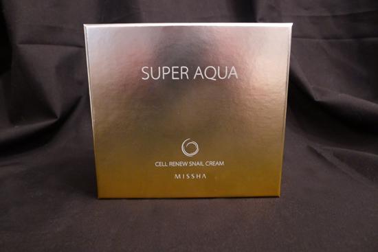 Missha Super Aqua Cell Renew Snail Cream & Sleeping Mask Set