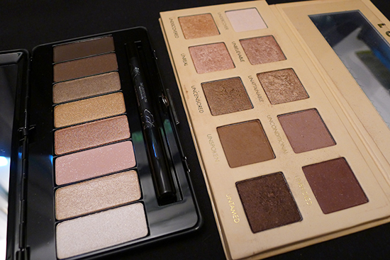 Kat Von D True Romance Eyeshadow Palette – Saint compared with Lorac Unzipped