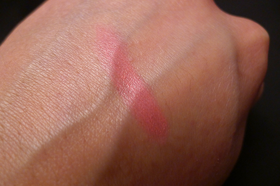 July 2013 Ipsy Glam Bag Review - Pop Beauty Lip Crayon Fuchsia Flirt Swatch