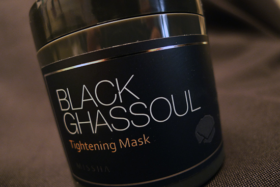 Missha Black Ghassoul Tightening Mask Review