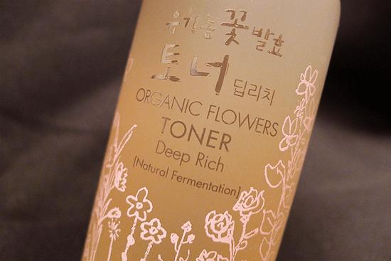 Organic Flowers Deep Rich Essence Toner