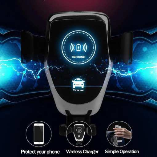 2019 Amazon Hot Sell Car Wireless Charger 1 Wireless Car Charger