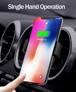 2019 Amazon Hot Sell Car Wireless Charger 4 Wireless Car Charger