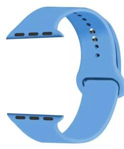 5A728DE4 7FBC 4938 989F 0FAC0DADD126 Silicon Watch Band for Apple Watch 1, 2, 3, 4, & 5