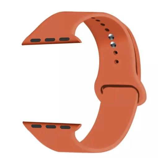 5E7C5590 4175 4DF5 83C7 F81A92F6640C Silicon Watch Band for Apple Watch 1, 2, 3, 4, & 5