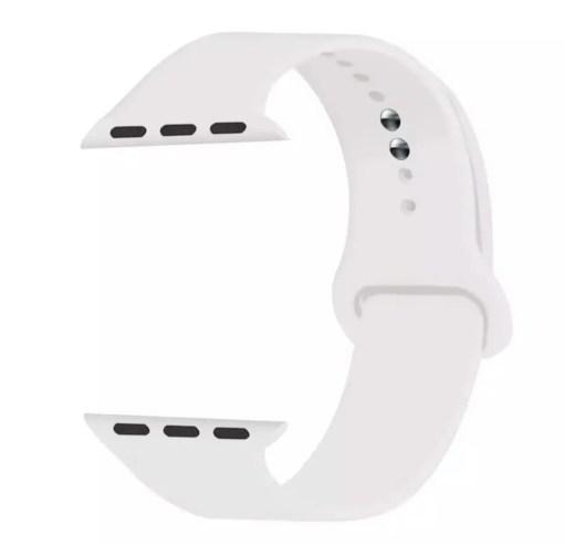 74FE4B4D B3B2 4098 977A 4F1A2F571449 Silicon Watch Band for Apple Watch 1, 2, 3, 4, & 5