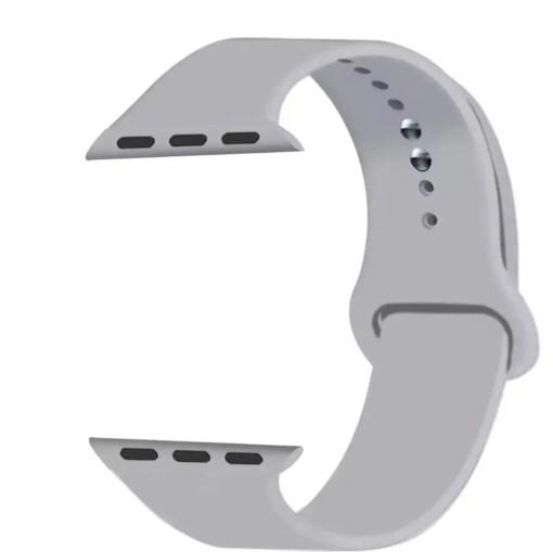 DD5893F7 2345 4C4A A3D6 210E7383004A Silicon Watch Band for Apple Watch 1, 2, 3, 4, & 5