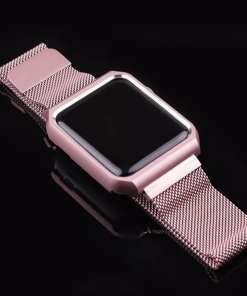 0CE9C93E 5C9A 4233 8494 63FE78A1DE49 Apple Watch: Stainless Steel Magnetic Strap for Apple Watch Milanese Series 4 3 2 1
