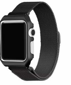 FB74EFA2 331B 491A BB2F 7D8207CB77C7 Apple Watch: Stainless Steel Magnetic Strap for Apple Watch Milanese Series 4 3 2 1