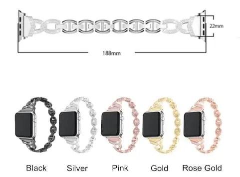 5 1 Apple Watch: Diamond Watch Band for Apple Watch