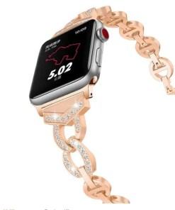 smart Apple Watch: Diamond Watch Band for Apple Watch