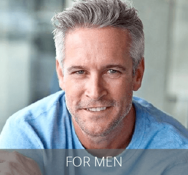 For Men - Middle aged man with graying hair