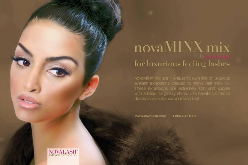 Get The Look of Mink Eyelash Extensions With novaMINX