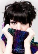 Fashion shoot - Rae Anne (hair, makeup, crochet)