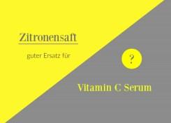 lemon juice Zitronensaft