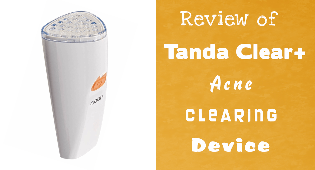 Tanda clear plus professional acne clearing solution device