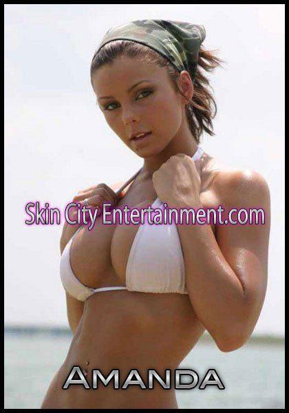 Female stripper exotic dancer Amanda