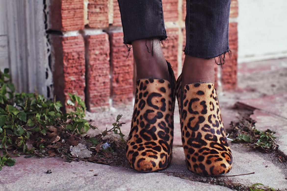 These leopard print shoes are everything.