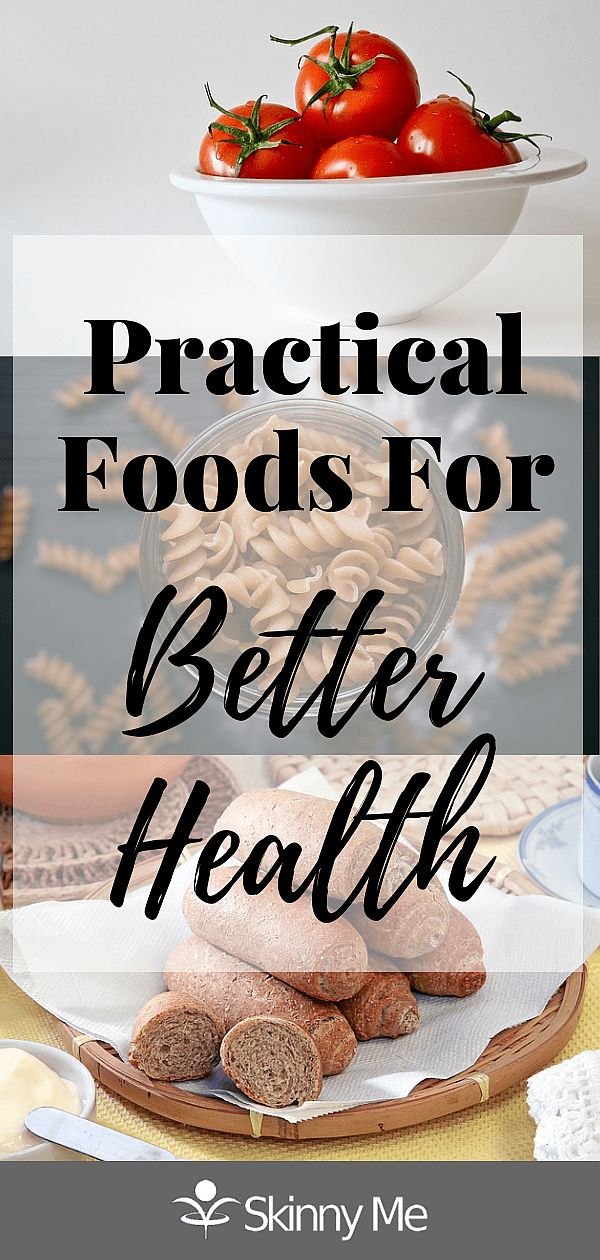 Practical foods are those foods that are not only healthy but whose benefits extend beyond their mere nutritional value. Such foods are easy to use and useful in a number of different recipes.
