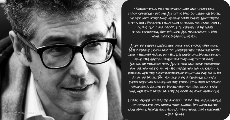 Ira Glass Image Quote