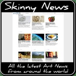 Skinny News on Art Badge