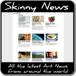 Skinny News on Art Badge