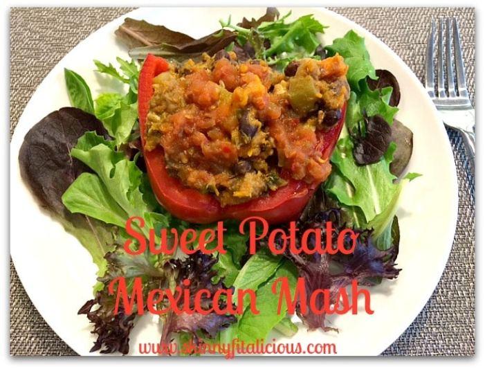 sweet potato mexican mash