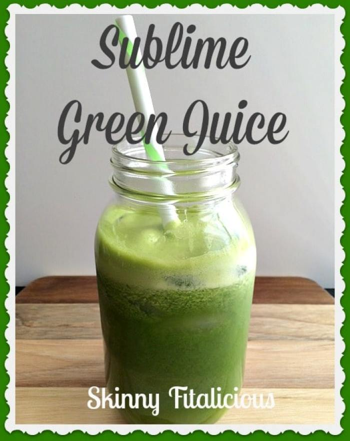 sublime green juice